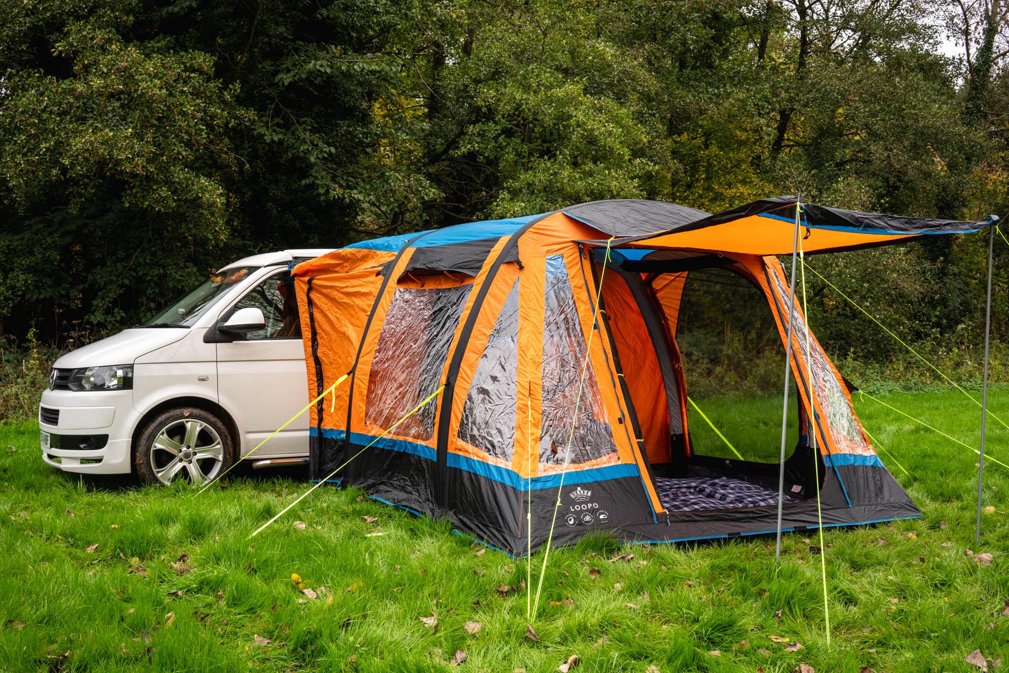 OLPRO Orange Loopo Breeze Campervan Awning