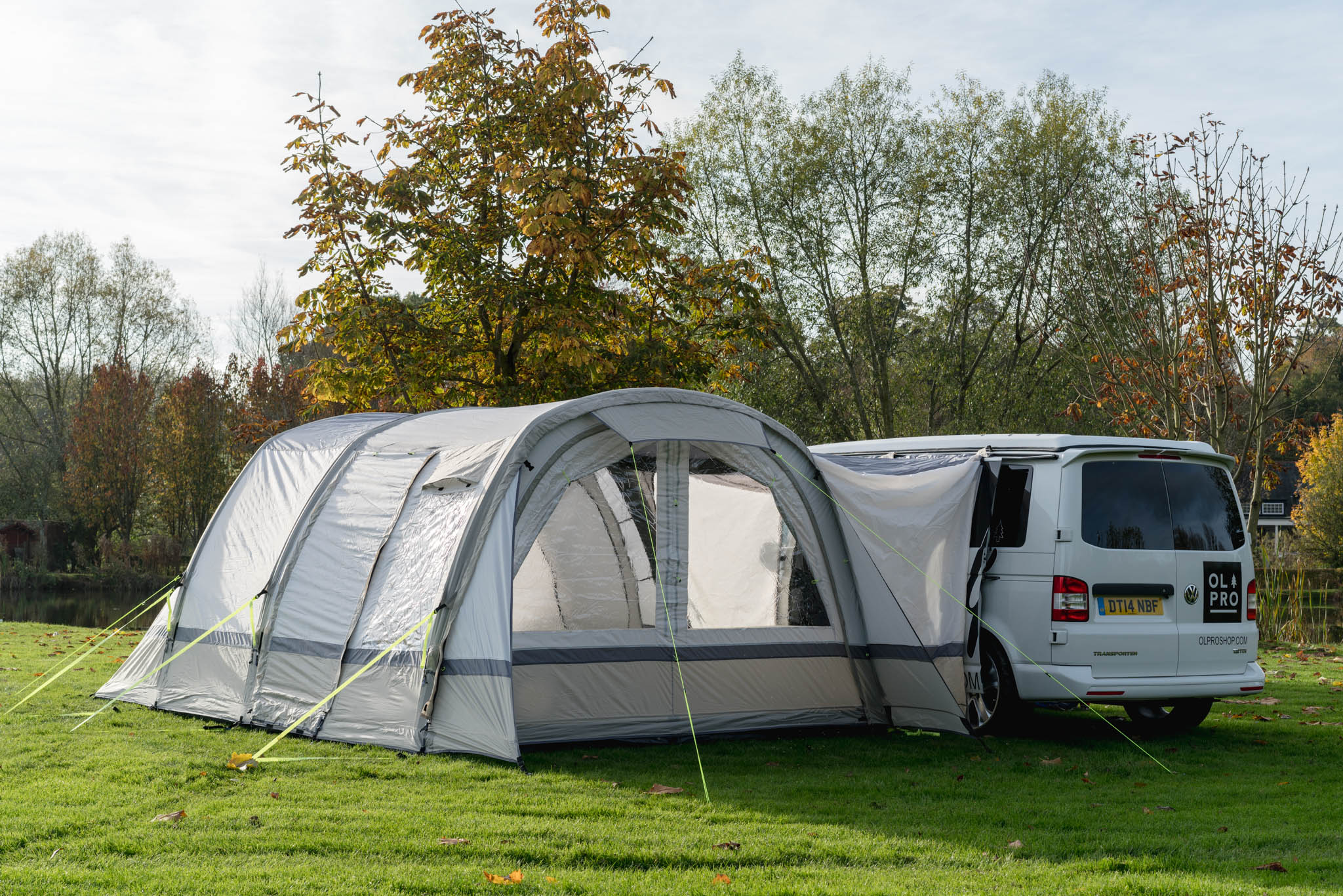 OLPRO Sage Cocoon Breeze campervan Awning