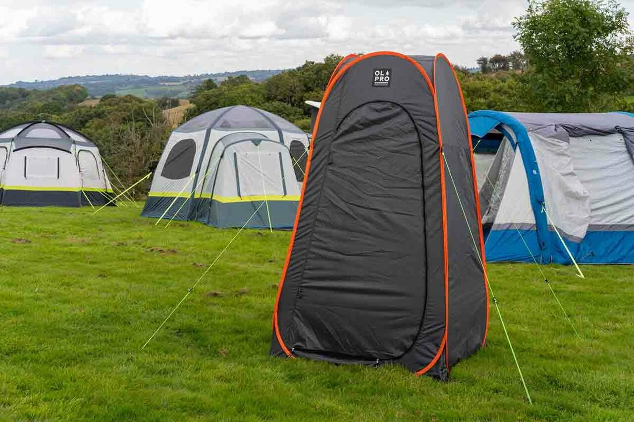 OLPRO Grey XL Pop Up Utility Tent